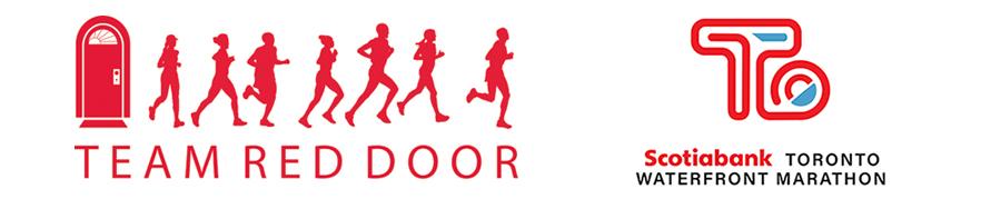 Team Red Door & Scotia Bank Toronto Waterfront Marathon