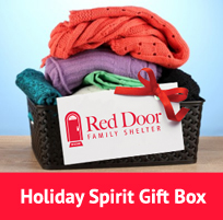 Share the Spirit of Giving | Red Door Family Shelter
