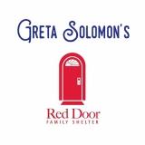 Greta Soloman's Logo and Red Door's logo