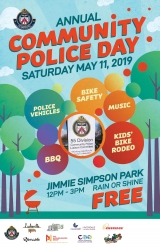 Community Police Day poster