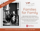 Families for Family Holiday Portraits postcard (info below)