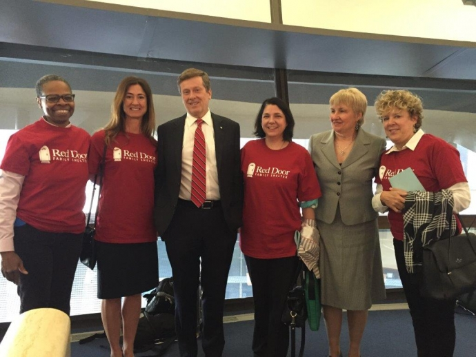 Red Door leadership with Mayor Tory and Councillor Fletcher
