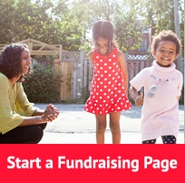 start a fundraising page
