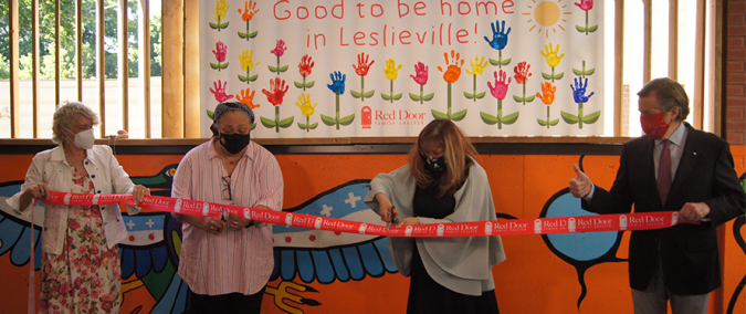 Picture of ribbon cutting